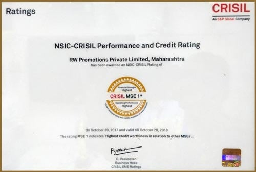NSIC- CRISIL Performance & Credit Rating - MSE 1
